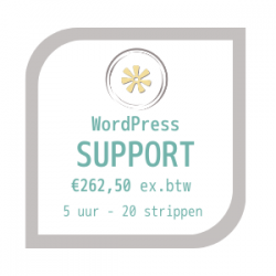 WordPress Coaching en Support Strippenkaart