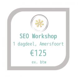SEO Amersfoort Productafbeelding voor workshop